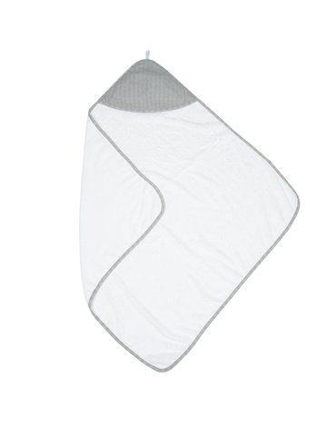 Juddlies Bambusowy Ręcznik z Kapturem Grey