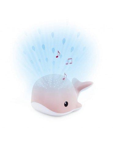 Zazu Kids - Zazu WALLY Projektor Wieloryb Pink