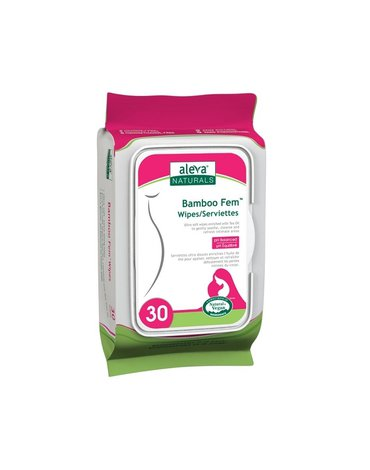 Aleva Naturals - Aleva Bambusowe Chusteczki do Higieny