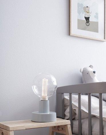 Kids Concept Lampa Stołowa Ścienna Blue