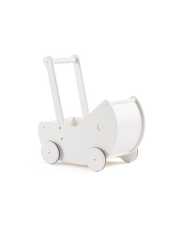 Kids Concept Wózek dla Lalek White
