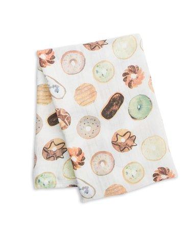 Lulujo Kocyk Bambusowy Otulacz Donuts