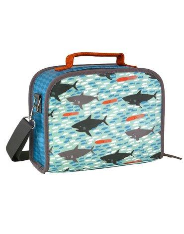 Petit Collage Lunchbox Ekologiczny Rekin