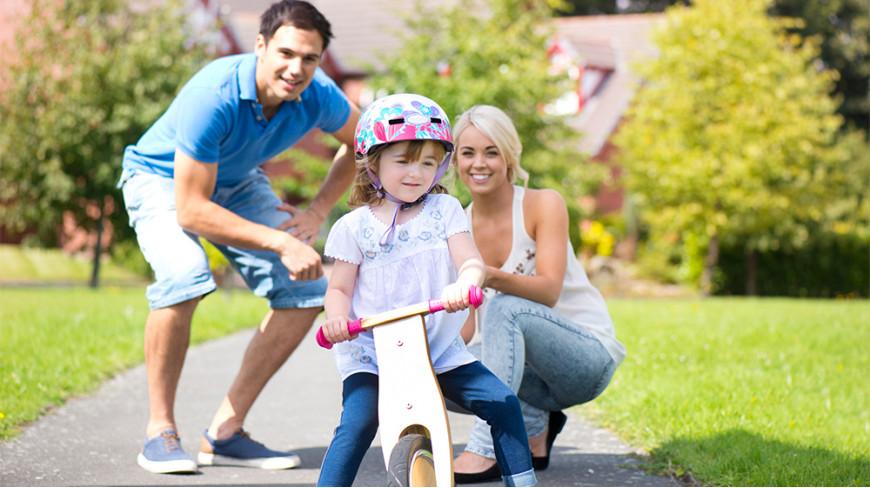 Rowerek biegowy - rozwój i zabawa